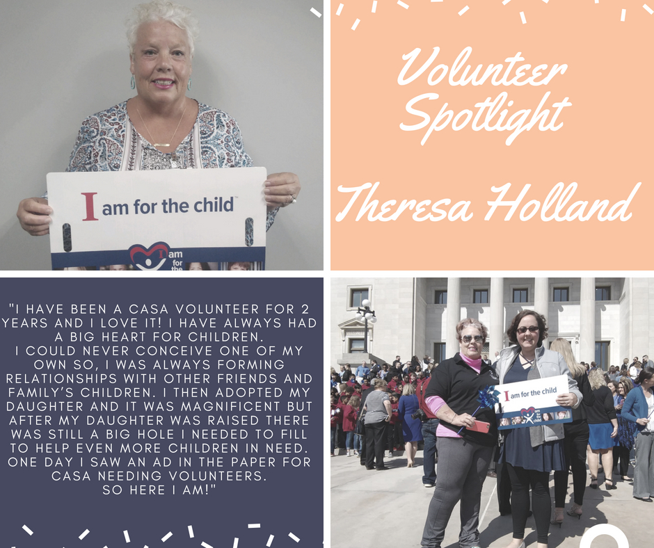 CASA Advocate Theresa Holland