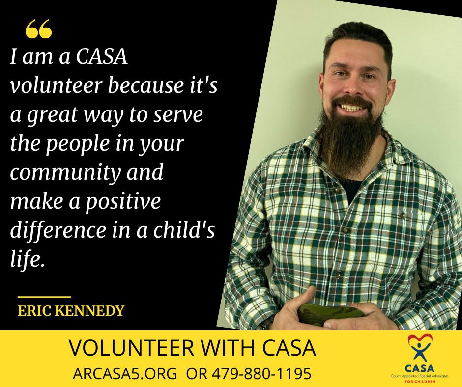 I am a CASA volunteer because as a retired teacher, I can still serve children. My skill set is somewhat different from others and can find information about education that many many not be aware (3)